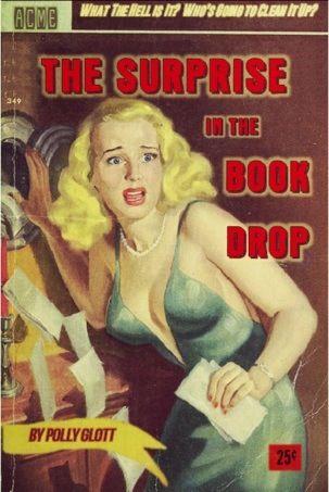 surprise book drop