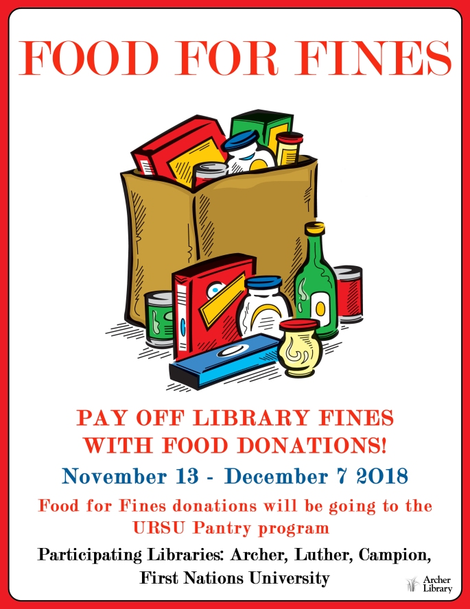 food for fines vertical poster
