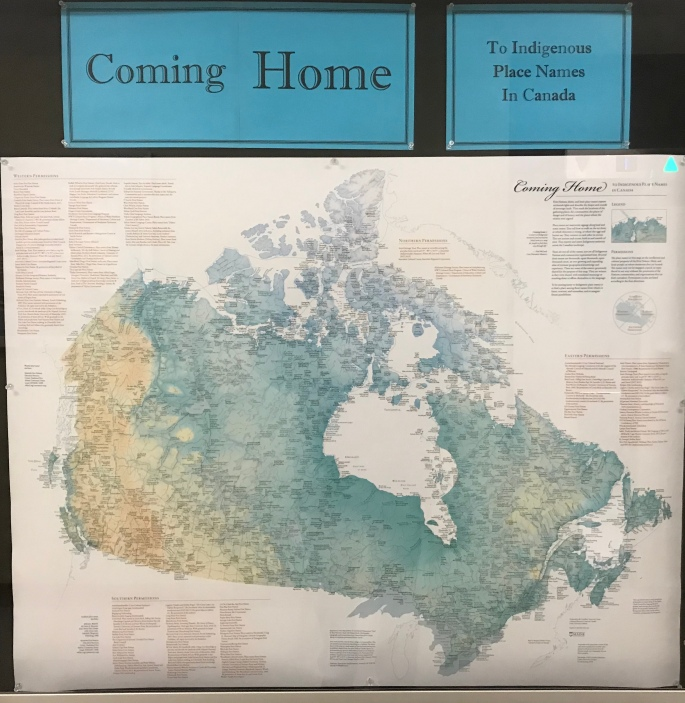 Coming home indigenous place names map